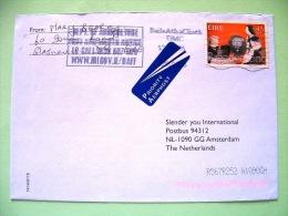 Ireland 2001 Cover To Holland - Radio - Broadcasting In Ireland - People Listning Radio - Scott 1288 = 1.50 $ - 1949-... Repubblica D'Irlanda