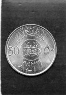 PIECE DE 50 HALALA - Saudi Arabia