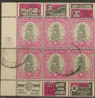 SOUTH AFRICA 1933 1d Booklet SG 56e U #CM542 - Libretti