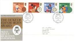 (876) UK FDC Cover - 1981 - Duke Of Edinburgh's Award - FDC
