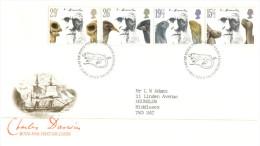 (876) UK FDC Cover - 1982 - Darwin - FDC