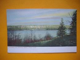 Cpa  NEW YORK - Palisades On Hudson River - états Unis - USA - Hudson River