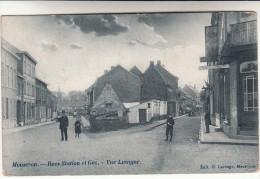 Mouscron, Moeskroen, Rues Station Et Gaz, Vue Luigne (pk13855) - Mouscron - Moeskroen