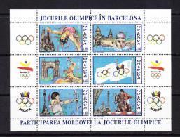 MDA-    14    MOLDOVA-1992 OLYMPIC GAMES BARCELONA