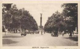Berlin , Siegesallee - Tiergarten