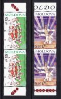 MDA-    38    MOLDOVA-2010 FOLKLORE. STARTING PRICE FOR THE ONE SET