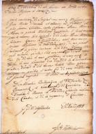 NAMUR ET CONSISTOIRE DU DUCHE DE BREMEN 1724 - 2 DOCUMENTS - Manuscrits