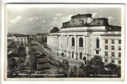 CPSM SOFIA (Bulgarie) - L'Un Iversité D'état - Bulgaria