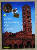 ITALIA 2009 - FESTIVAL INTERNAZIONALE DELLA FILATELIA -  --CARTOLINA + BUSTA FDC   + 2 TESSERE + 2 FRANCOBOLLI - 6. 1946-.. Repubblica