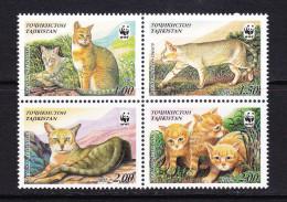 TJK-06TAJIKISTAN – 2002 CATS - Nuevos
