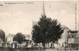 LANGOURLA Vue Partille L Eglise Le Cimetiere - Other Municipalities