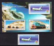 TJK-11TAJIKISTAN – 2001 TRANSPORT - Trains