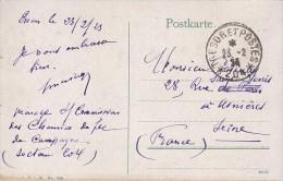 Sur CPA De Essen - CàD Trésor Et Post Es 204 - Armée D'occupation 1923 - FRANCO DE PORT - 1. Weltkrieg 1914-1918