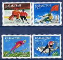 KAZAKHSTAN 1994 Winter Olympics First Issue Set MNH / ** - Kazakhstan