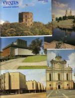 GOOD LITHUANIA 16 Postcards Set 1983 - VILNIUS - Lithuania