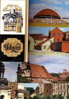 GOOD LITHUANIA 15 Postcards Set 1978 - VILNIUS - Lithuania