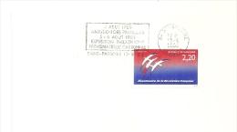 REVOLUTION = 34 St PARGOIRE 1989 = FLAMME Type II = SECAP 'abolition Des Privileges Expo Philatélique Numismatique ' - Marcofilia (sobres)