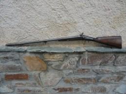 RARE FUSIL A PISTON GARNITURES EN MAILLECHORT - Armes Neutralisées