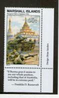 MARSHALL 1992  Rangoon  Scott N°301  NEUF MNH** - WW2