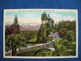 Smiley Heights, Overlooking Redlands, California - San Bernardino