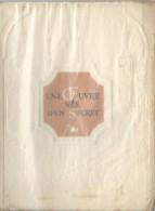 La B�n�dictine/Liqueur/ Livret/ Une Oeuvre n�e d'un secret/ Mus�e de la B�n�dictine/FECAMP/Tolmer /vers 1940-50  LIV45