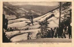 THEMES - SPORTS - Paysages Et Sports D'Hiver - Saut En Skis - Natation