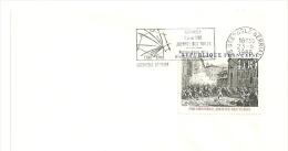 REVOLUTION = 38 GRENOBLE BERRIAT 1988 = FLAMME Type II = SECAP Illustrée ' 1788  - Journée Des Tuiles ' - Postmark Collection (Covers)