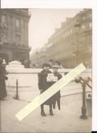 Paris Opéra Enfant Crieurs De Journaux L'annonce De La Paix 1919 WWI Ww1 14-18 1.wk 1914-1918 Poilus - War, Military