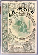 Revue Le Mois Litteraire Et Pittoresque, Couverture Signée Mucha
