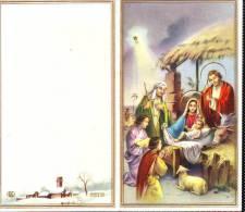 Calendario Anno 1964, Pieghevole Soggetto Religioso - Calendari