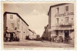 Saint Gilles - Avenue Anatole France (magasin Cycles Motos à Gauche, Pompe à Essence Spido Ou Azur ?) - Saint-Gilles