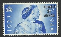 Kuwait, 2 1/2 a. on 2 1/2 p. 1948, Sc # 82, MNH