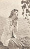 CA4019 - CARTOLINA CON FOTOGRAFIA FEMMINILE - Siluette