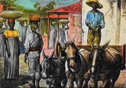 CARTE POSTALE MARTINIQUE - Les Antilles D'Autrefois - T.B.E. - Martinique
