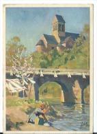 61/ ORNE...  Eglise De SAINT CENERI LE GEREI Sur Les Bords De La Sarthe - France