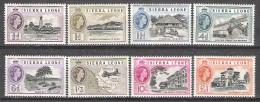 Sierra Leone 1956 Definitives MNH CV £64.45 (2 Scans) - Sierra Leone (...-1960)