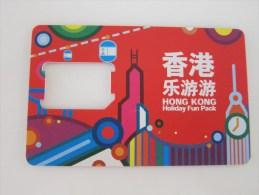 GSM  Card,only Frame,Holiday Fun Pack,no Chip - Hong Kong