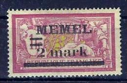 Memel .Type-Merson. No 67 X. - Memel (1920-1924)