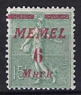 Memel  .Type-Semeuse.  No 111. X. - Memel (1920-1924)