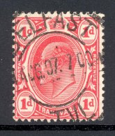 TRANSVAAL, Postmark ´BELFAST´ On Edward VII Stamp - Zuid-Afrika (...-1961)