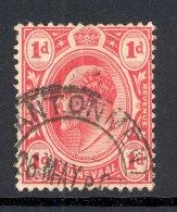 TRANSVAAL, Postmark ´CANTONMENT´ On Edward VII Stamp - Zuid-Afrika (...-1961)