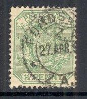 TRANSVAAL, Postmark ´FORDSBURG´ On Z. Afr. Republiek Stamp - Zuid-Afrika (...-1961)