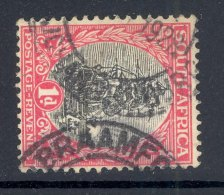 TRANSVAAL, Postmark ´BRAAMFONTEIN´ On George V Stamp - Zuid-Afrika (...-1961)