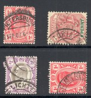TRANSVAAL, Postmarks Pietersburg, Pretoria, Lichtenburg, Pilgrim's Rest - Zuid-Afrika (...-1961)