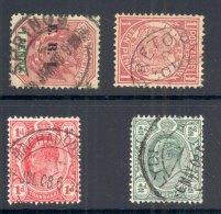 TRANSVAAL, Postmarks Pretoria, Springs, Machadodorp, Lydenburg - Zuid-Afrika (...-1961)