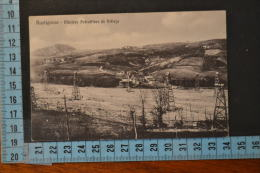 1913 PIACENZA RUSTIGASSO Miniere petrolifere di Velleja Viaggiata-Rarita�