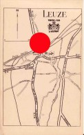 LEUZE  1921 - Mapas