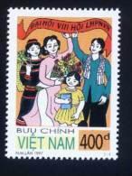 Vietnam MNH Perf Stamp 1997 : 8th Congress Of Viet Nam Women's Union (Ms755) - Viêt-Nam