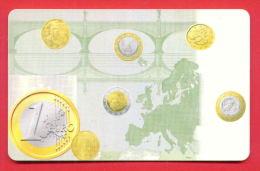 H376 / BulFon - COINS MONEY 1 EURO  - Phonecards Télécartes Telefonkarten , Bulgaria Bulgarie Bulgarien Bulgarije - Timbres & Monnaies