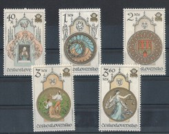 CECOSLOVACCHIA  1978   OROLOGIO ASTRONOMICO  MNH - Orologeria